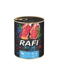 RAFI Lamb z jagnięciną 400 g mokra karma dla psa