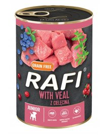 RAFI Veal z cielęciną 400 g mokra karma dla psa