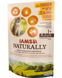 Naturally z kurczakiem i jagnięciną nowozelandzką w sosie 85 g