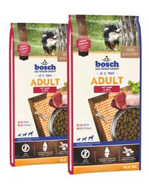 BOSCH Adult jagnięcina i ryż 30 kg (2 x 15 kg)
