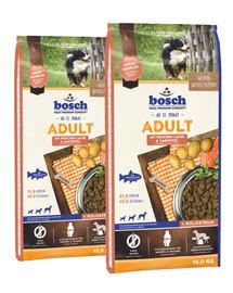 BOSCH Adult łosoś i ziemniaki 30 kg (2 x 15 kg)