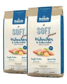 BOSCH Soft junior kurczak & bataty 25 kg (2 x 12,5 kg)