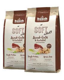 BOSCH Soft Kaczka & Ziemniak 25 kg (2 x 12,5 kg)