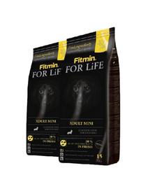 FITMIN Dog For Life adult mini 30 kg (2 x 15 kg)