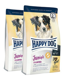 HAPPY DOG Junior Grainfree 20 kg (2 x 10 kg)