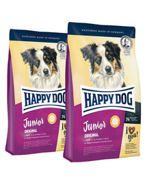 HAPPY DOG junior original 20 kg (2 x 10 kg)