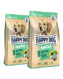 HAPPY DOG NaturCroq Balance 30 kg (2 x 15 kg)