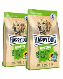 HAPPY DOG NaturCroq jagnięcina/ryż 30 kg (2 x 15 kg)