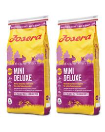 JOSERA Mini Deluxe 30 kg (2 x 15 kg dla psów dorosłych)