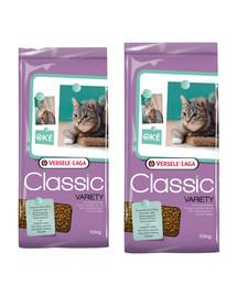 VERSELE-LAGA Karma dla kota Classic cat variety 20 kg (2 x 10 kg)