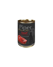 PIPER Platinum Wołowina z ryżem 400g mokra karma dla psów z alergią