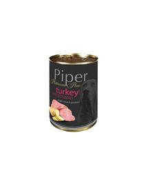 PIPER Platinum Pure Indyk z ziemniakami 400g mokra karma dla psów z alergią