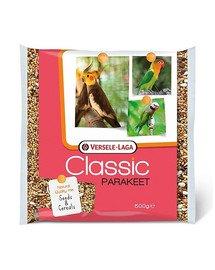 Parakeet Classic 500 g pokarm dla średnich papug, nimfy, nierozłączki
