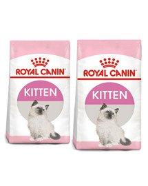 ROYAL CANIN Kitten 20 kg (2 x 10 kg) karma sucha dla kociąt od 4 do 12 miesiąca życia