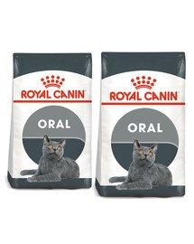ROYAL CANIN Oral Care 16 kg (2 x 8 kg) karma sucha dla kotów dorosłych, redukująca odkładanie kamienia nazębnego