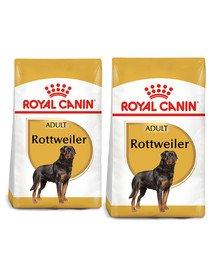 ROYAL CANIN Rottweiler Adult 24 kg (2 x 12kg) karma sucha dla psów dorosłych rasy rottweiler