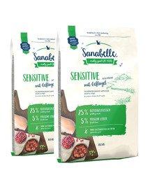 BOSCH Sanabelle sensitive drób 20 kg (2 x 10 kg)