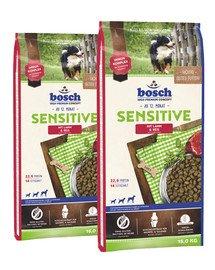 BOSCH Sensitive jagnięcina i ryż 30 kg (2 x 15 kg)