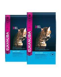 EUKANUBA Cat Senior All Breeds Top Condition Chicken & Liver 20 kg (2 x 10 kg)