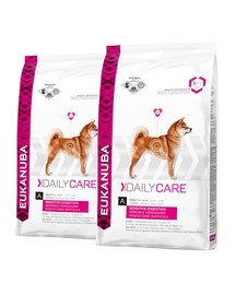 EUKANUBA Daily Care Adult Sensitive Digestion All Breeds Chicken 25 kg (2 x 12.5 kg)