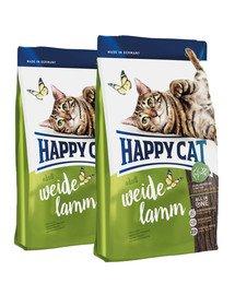 HAPPY CAT Fit & Well Adult Jagnięcina 20 kg (2 x 10 kg)