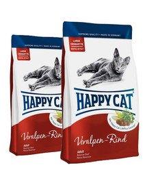 HAPPY CAT Fit & Well Adult Wołowina 20 kg (2 x 10 kg)