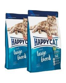 HAPPY CAT Fit & Well duże rasy 20 kg (2 x 10 kg)