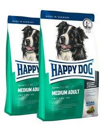 HAPPY DOG Fit & well adult medium 25 kg (2 x 12.5 kg)