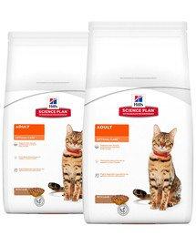 HILL'S Science Plan Feline Adult Optimal Care Lamb 20 kg (2 x 10 kg)