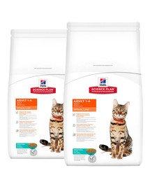 HILL'S Science Plan Feline Adult Optimal Care Tuna 20 kg (2 x 10 kg)