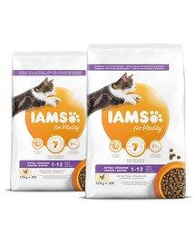 IAMS for Vitality dla kociąt ze świeżym kurczakiem 20 kg (2 x 10 kg)