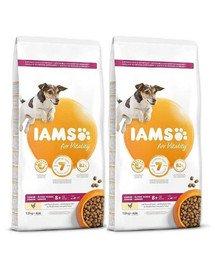 IAMS ProActive Health Mature & Senior All breeds Chicken 24 kg (2 x 12 kg)