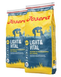 JOSERA Light & vital 30 kg (2 x 15 kg)