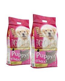 NERO GOLD Puppy Maxi 24 kg (2 x 12 kg)