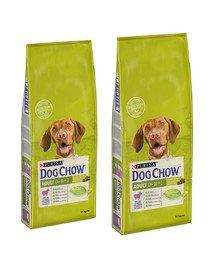 PURINA Dog Chow Adult jagnięcina 28 kg (2 x 14 kg)