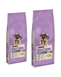 PURINA Dog Chow Senior jagnięcina 28 kg (2 x 14 kg)