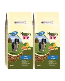 VERSELE-LAGA Happy Life Adult Salmon 30 kg (2 x 15kg)