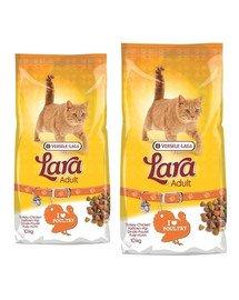 VERSELE-LAGA Lara adult turkey & chicken karma dla kotów z indykiem i kurczakiem 20 kg (2 x 10 kg)