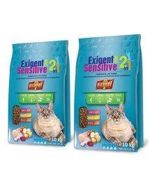VITAPOL Karma Dla Kotów Wybrednych 20 kg (2 x 10 kg) Sensitive