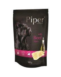 PIPER Animals z żołądkami wołowymi 500g mokra karma dla psa