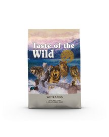 TASTE OF THE WILD Wetlands 24,4 kg (2 x 12,2 kg) z dzikim ptactwem