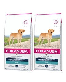 EUKANUBA Adult Breeds Specific Labrador Retriever Chicken 24 kg (2 x 12 kg)