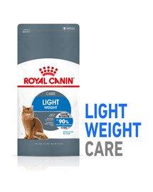 ROYAL CANIN Light Weight Care 16 kg (2 x 8 kg) karma sucha dla kotów dorosłych, utrzymanie prawidłowej masy ciała