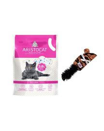 KONG Zestaw świąteczny Mysz pluszak dla kota + żwirek silikonowy 3,8 l