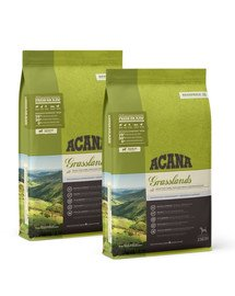 ACANA Grasslands Dog 22,8 kg (2 x 11,4 kg)