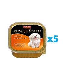 ANIMONDA Vom Feinsten Classic zestaw z drobiem i cielęciną 5 x 150 g