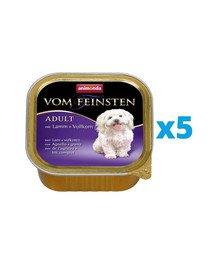 ANIMONDA Vom Feinsten Menue zestaw z jagnięciną i ziarnami 5 x 150 g
