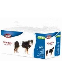 Pieluchy dla psów , S–M: 30–46 cm, 12 szt