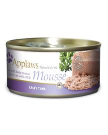 Cat Mousse Tin 70 g Tuna karma mokra dla kota z tuńczykiem