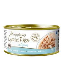 Cat Tin Grain Free 70 g mokra karma dla kota tuńczyk w sosie